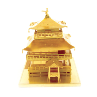 thumb-Gold Kinkaku-Ji -  3D puzzle-5