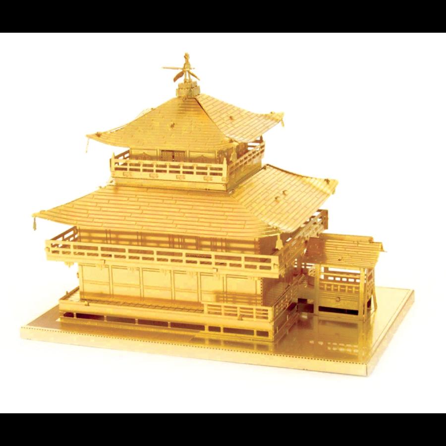 Gold Kinkaku-Ji -  3D puzzle-6
