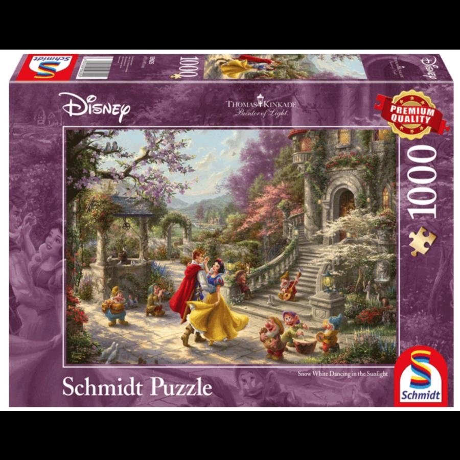Sneeuwwitje - Thomas Kinkade - puzzel van 1000 stukjes-1