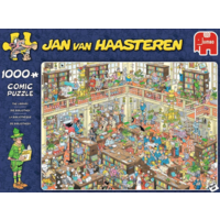 De bibliotheek - JvH - 1000 stukjes