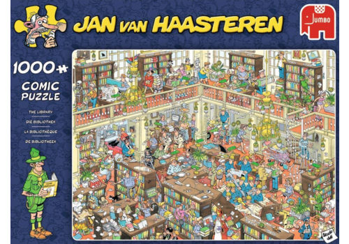 The Library - JvH - 1000 pieces