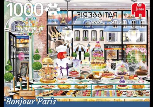 Bonjour Paris - 1000 stukjes