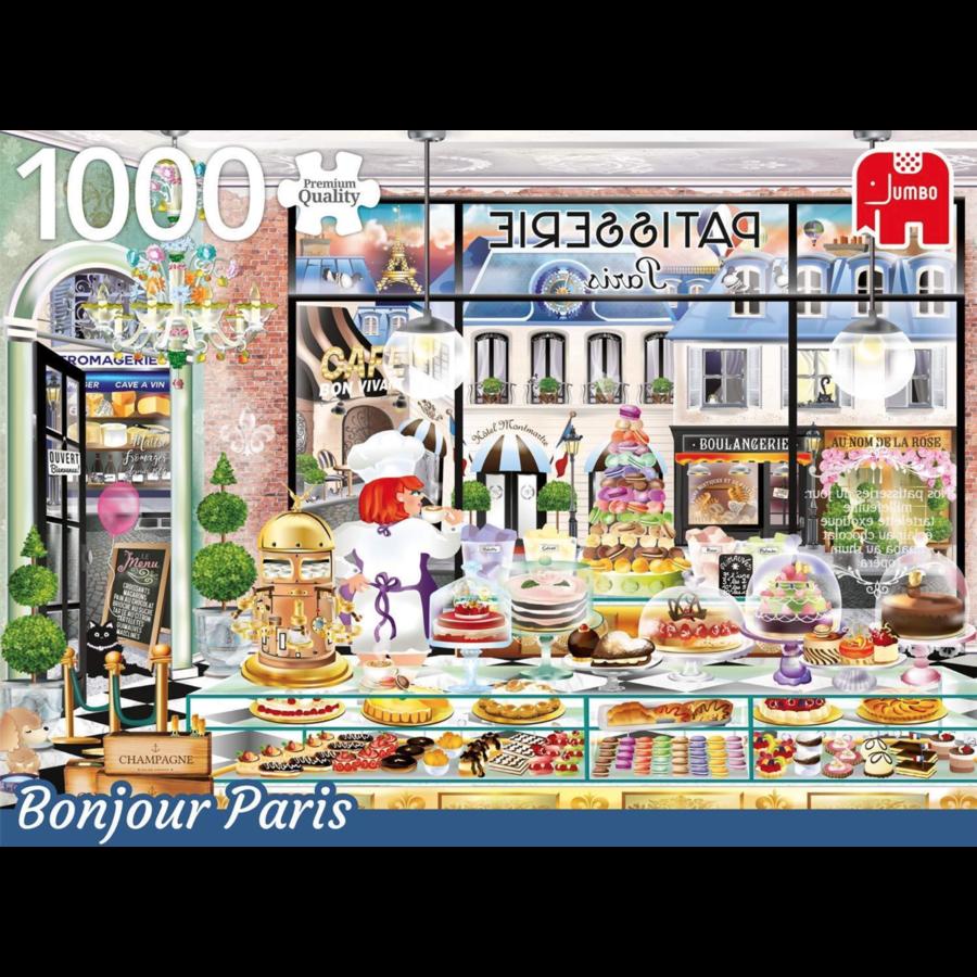 Bonjour Paris - Wanderlust - 1000 stukjes-1