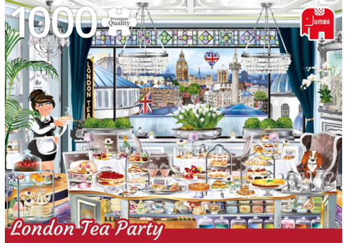 London Tea Party - 1000 pieces