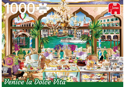Venice La Dolce Vita - 1000 stukjes