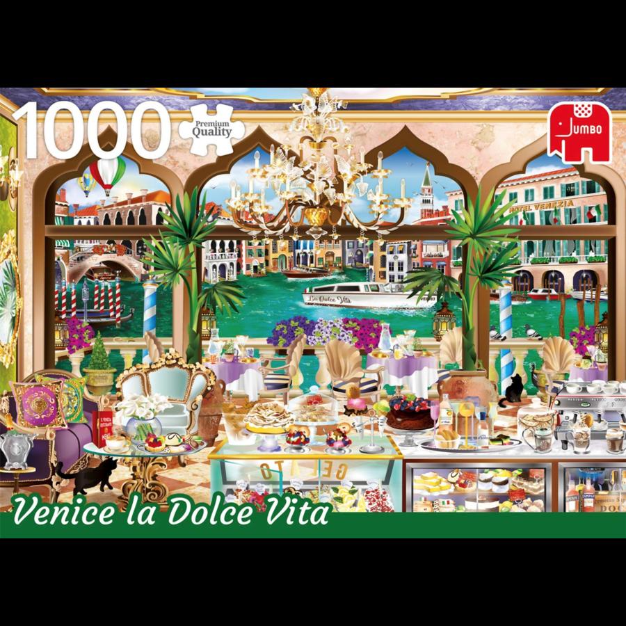 Venice La Dolce Vita - Wanderlust - 1000 stukjes-1