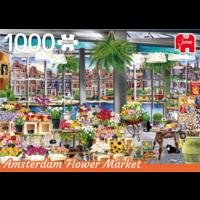 De bloemenmarkt in Amsterdam - Wanderlust - 1000 stukjes