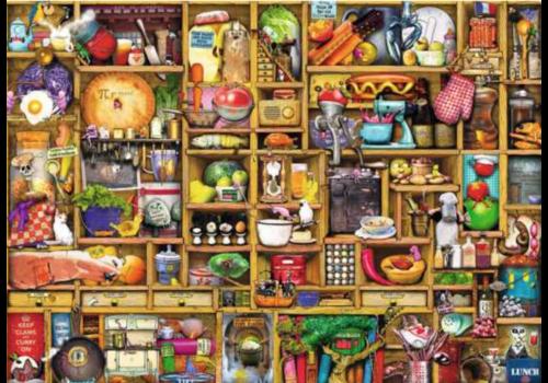 Curieuze keukenkast - 1000 stukjes - Exclusiviteit