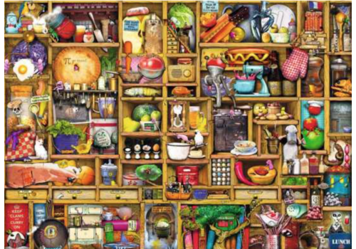 Curious kitchen cupboard - 1000 pieces - Exclusive offer