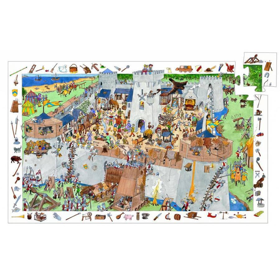 Bescherm het kasteel - puzzel van 100 stukjes-1
