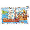 Djeco The pirates in attack - 100 pieces of puzzle