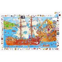 De piraten in aanval - puzzel van 100 stukjes