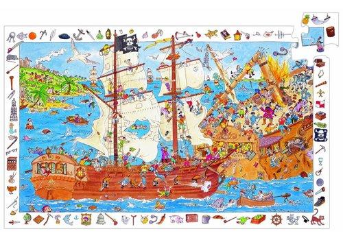 Djeco De piraten in aanval - 100 stukjes