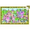 Djeco Het roze prinsessenkasteel - puzzel van 54 stukjes
