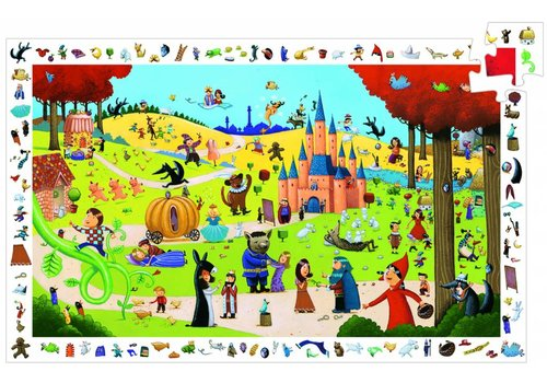 Djeco All fairy tales - 54 pieces
