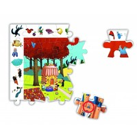 thumb-All fairy tales - puzzle of 54 pieces-3