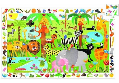 Djeco Ado dans la jungle - 35 morceaux