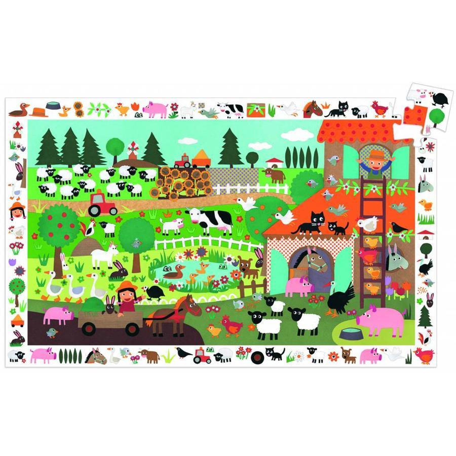 Glad Farm - Puzzle de 35 pièces-1