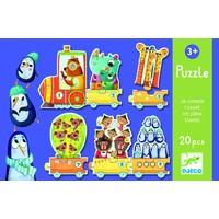 thumb-Train Puzzle - Puzzle de 20 pièces-2