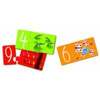 thumb-Puzzel duo - getallen - 10 puzzels van 2 stukjes-2