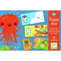 thumb-Puzzel duo - verstoppertje - 12 x 2 stukjes-1