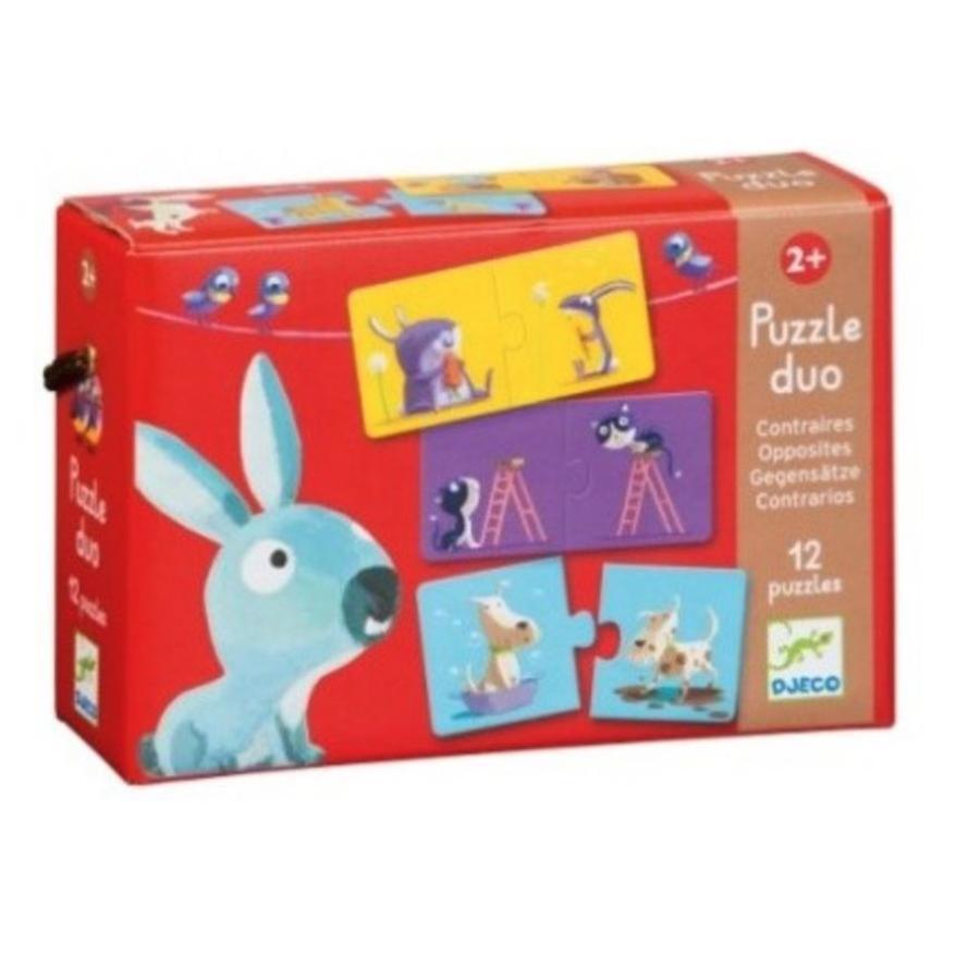 Puzzel duo - Tegengesteld - 12 x 2 stukjes-3