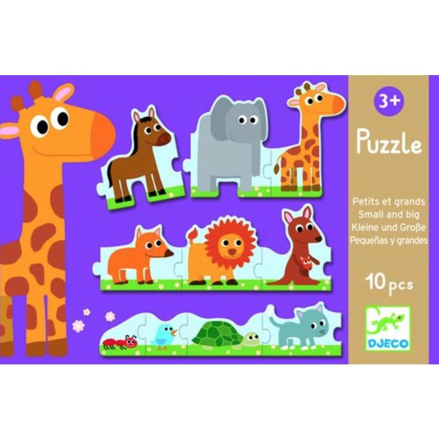Puzzel van klein naar groot - 10 stukjes-1