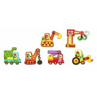 thumb-Puzzle duo - Moving cars - 6 x 2 pieces-2