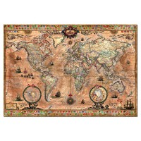 thumb-Ancient world map - 1000 pieces-1