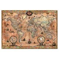 thumb-Antieke wereldkaart - 1000 stukjes-1