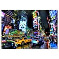 thumb-Times Square - puzzel van 1000 stukjes-1