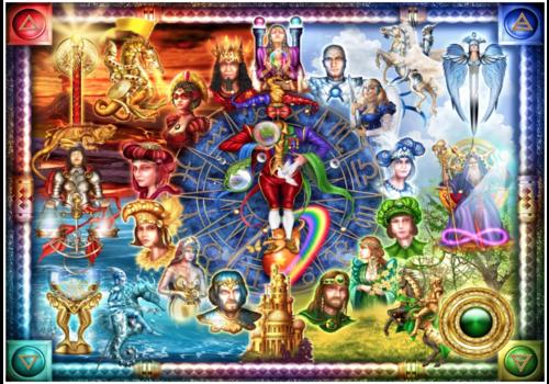 Tarot of dreams  - 1500 pieces