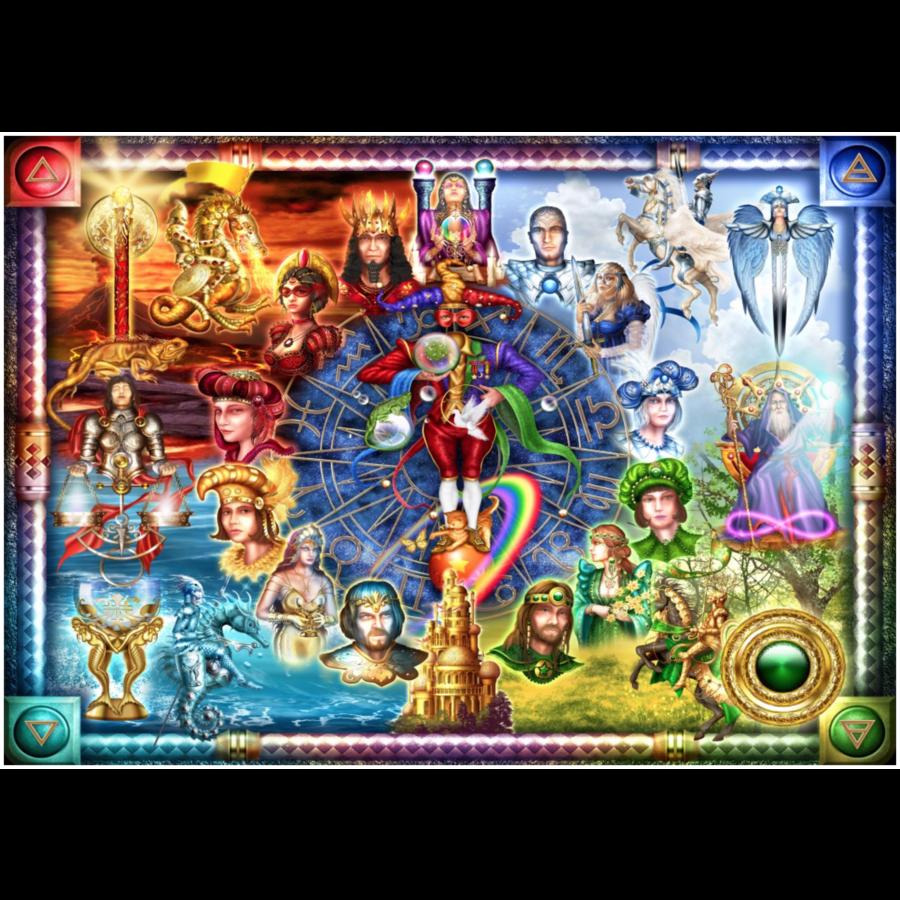 Tarot van dromen - puzzel van 1500 stukjes-1