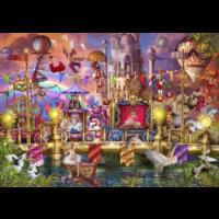 thumb-Parade du cirque magique - puzzle de 1500 pièces-1