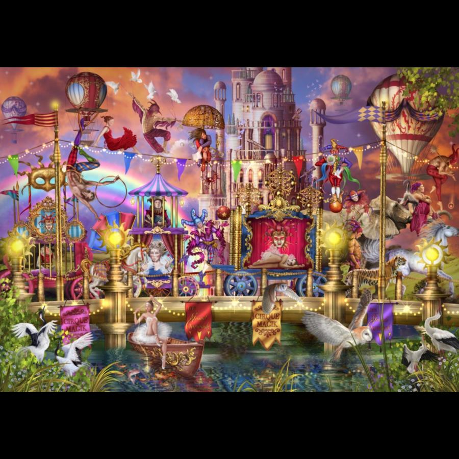 Parade du cirque magique - puzzle de 1500 pièces-1