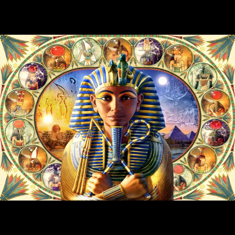 Tutankhamun - puzzle of 1000 pieces-1