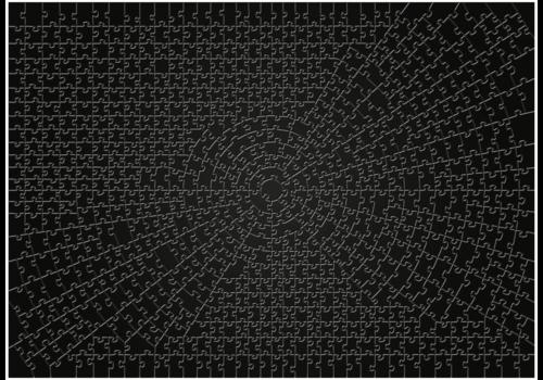 Krypt - BLACK - 736 pieces