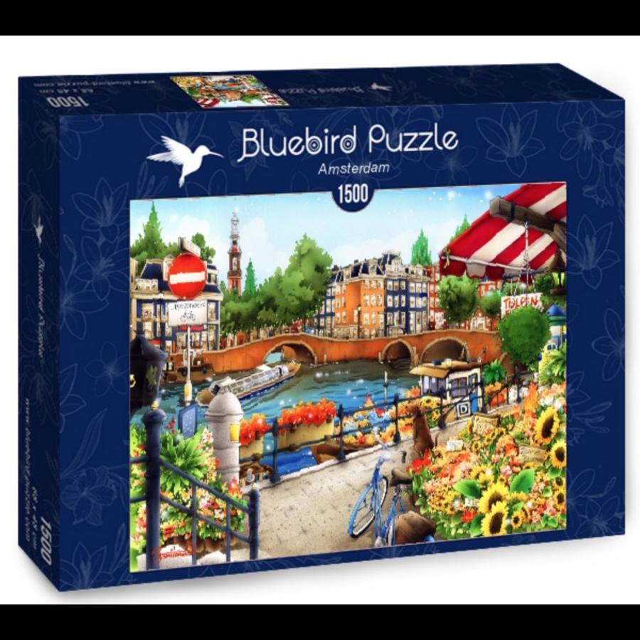 Amsterdam - puzzle de 1500 pièces-2