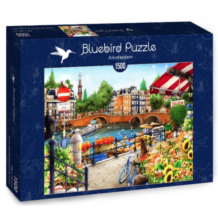 Amsterdam - puzzle of 1500 pieces-2