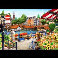 thumb-Amsterdam - puzzle de 1500 pièces-1