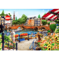 thumb-Amsterdam - puzzle of 1500 pieces-1