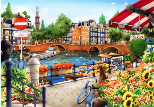 Bluebird Puzzle Amsterdam  - 1500 pieces