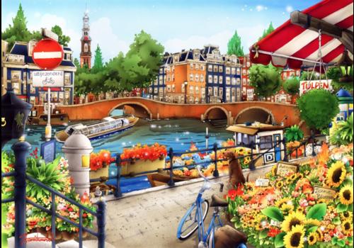 Amsterdam - 1500 stukjes