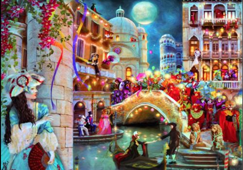 Bluebird Puzzle Lune du Carnaval- 3000 pièces