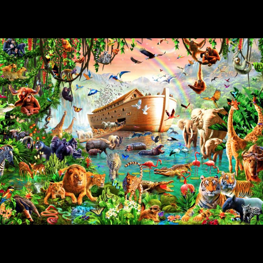 Noah's Ark - puzzle of 3000 pieces-2