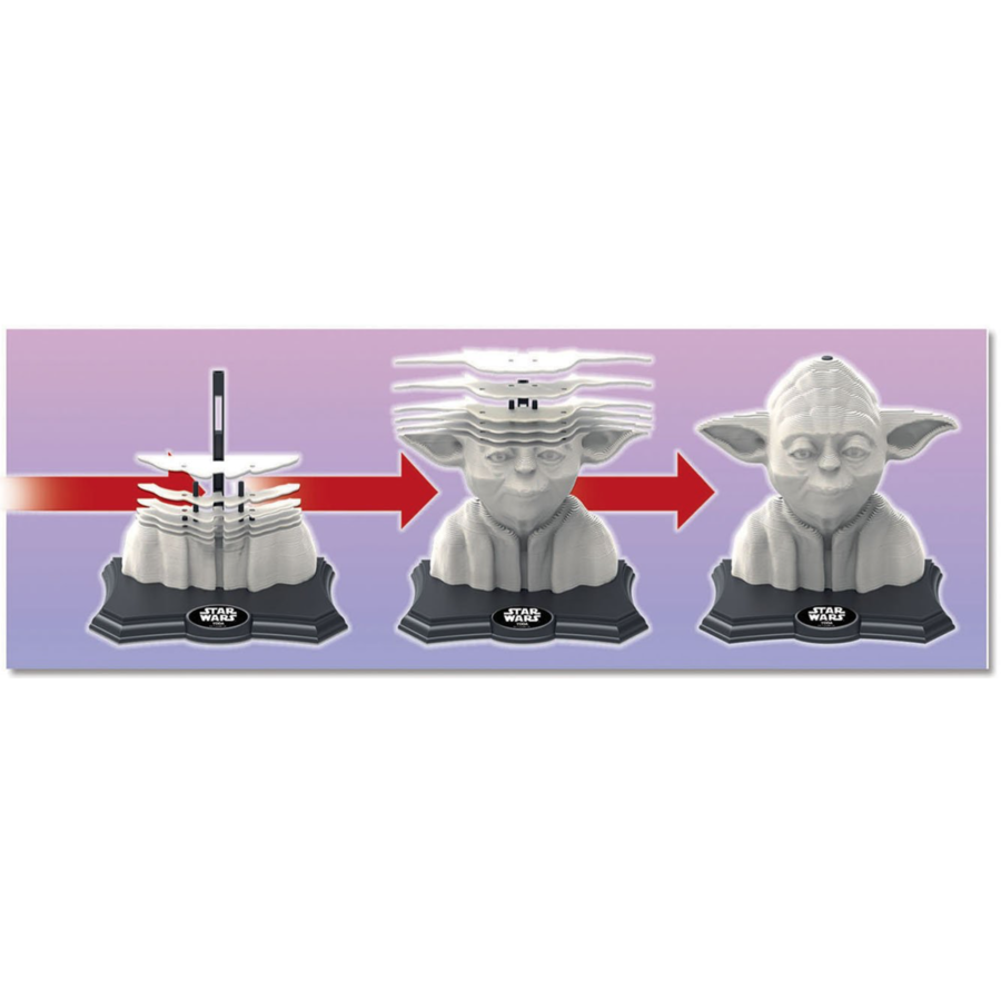 Star Wars - Yoda - 3D puzzle-3