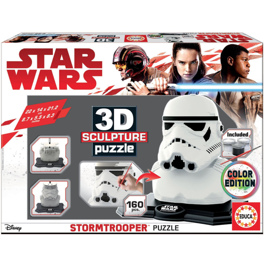 Star Wars - Stormtrooper - 3D puzzle-2