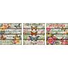 Educa Vlinder tuin - Deco - 3 puzzels van 500 stukjes