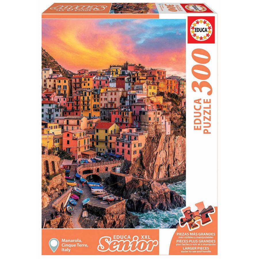 Manarola - Cinque Terre - Italië - 300XXL stukjes-2