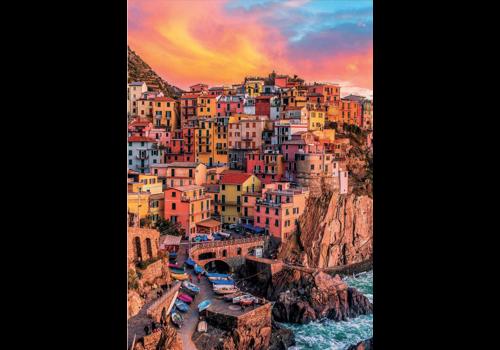 Manarola - Cinque Terre - Italië - 300XXL stukjes